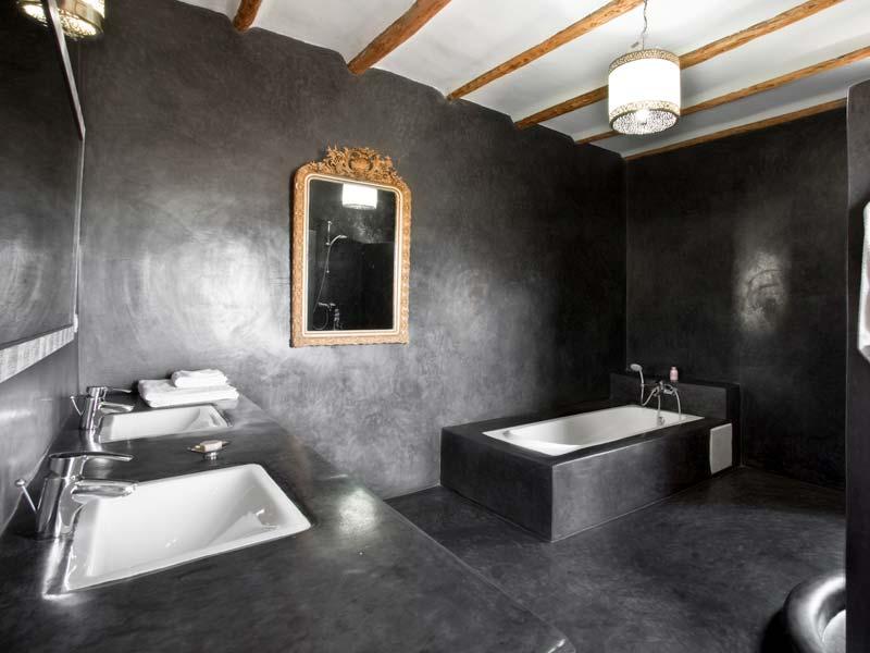 Stunning Salle De Bain Verte Et Noire Photos - House ...